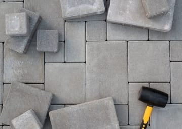 concrete pavement used by Cairns Pavers